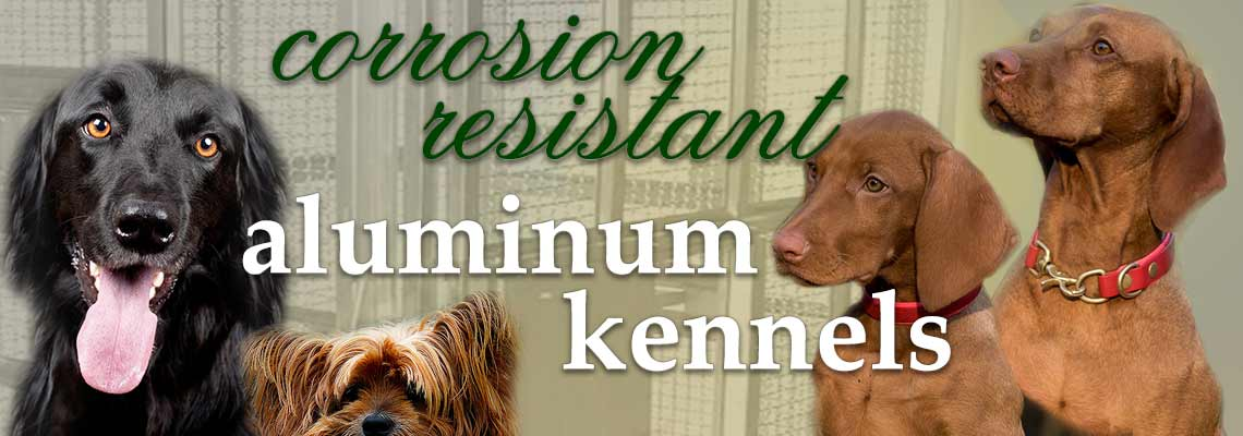 modular aluminum kennel specifications