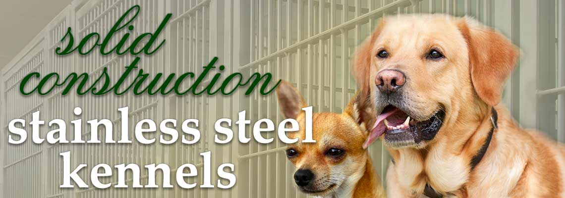 modular stainless steel kennel specifications