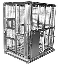 group 3 ape stainless steel cage